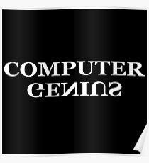 Computer genius Poster
