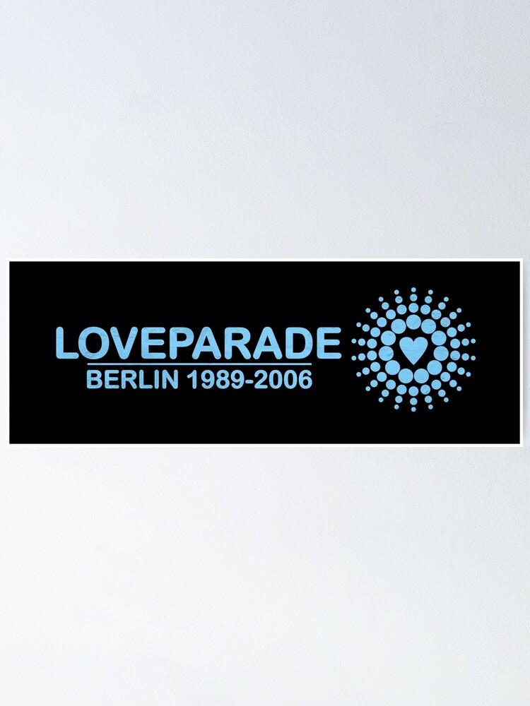 Alternate view of Loveparade, Berlin Poster