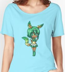 Leafeon Magical Girl Chibi Women's Relaxed Fit T-Shirt