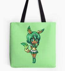 Leafeon Magical Girl Chibi Tote Bag