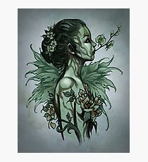 Orchid - undead version Photographic Print