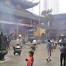 Buddhist Temple Shanghai 1 by barnsy