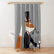 Herr Fox Duschvorhang
