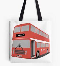 David's Bus Tote Bag