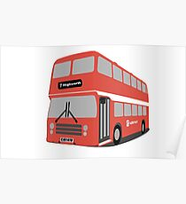David's Bus Poster