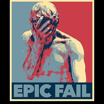 Epic Fail, Facepalm Statue by gorillamerch