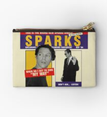 """SPARKS - WHEN DO I GET TO SING """"MY WAY"""" Studio Pouch"""