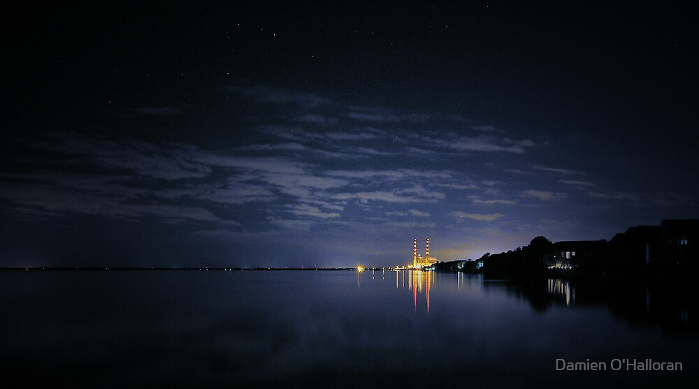 Industrial Nighttime by Damien O'Halloran