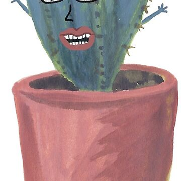 Crazy cactus lady  by shoshannahscrib