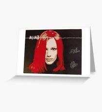 Alias Greeting Card