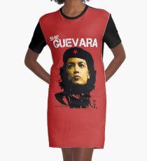 She Guevara Graphic T-Shirt Dress