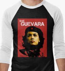 She Guevara Men's Baseball ¾ T-Shirt