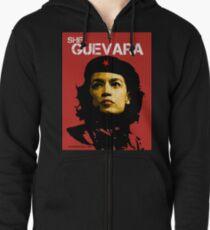 She Guevara Zipped Hoodie