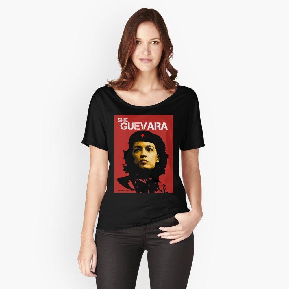 She Guevara Women's Relaxed Fit T-Shirt Front