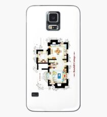 Rosehill Cottage from THE HOLIDAY - Ground floor Case/Skin for Samsung Galaxy