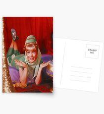 Barbara Eden, Vintage Fernsehstar Postkarten