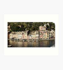 Portofino Art Print