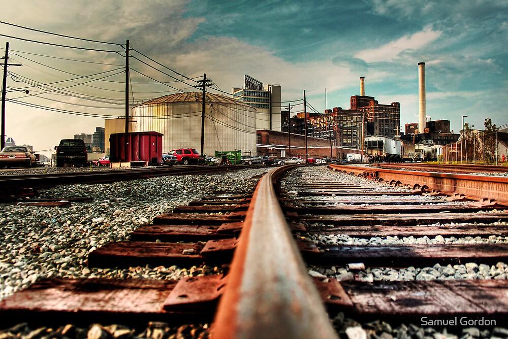 Train on Tracks by Samuel Gordon
