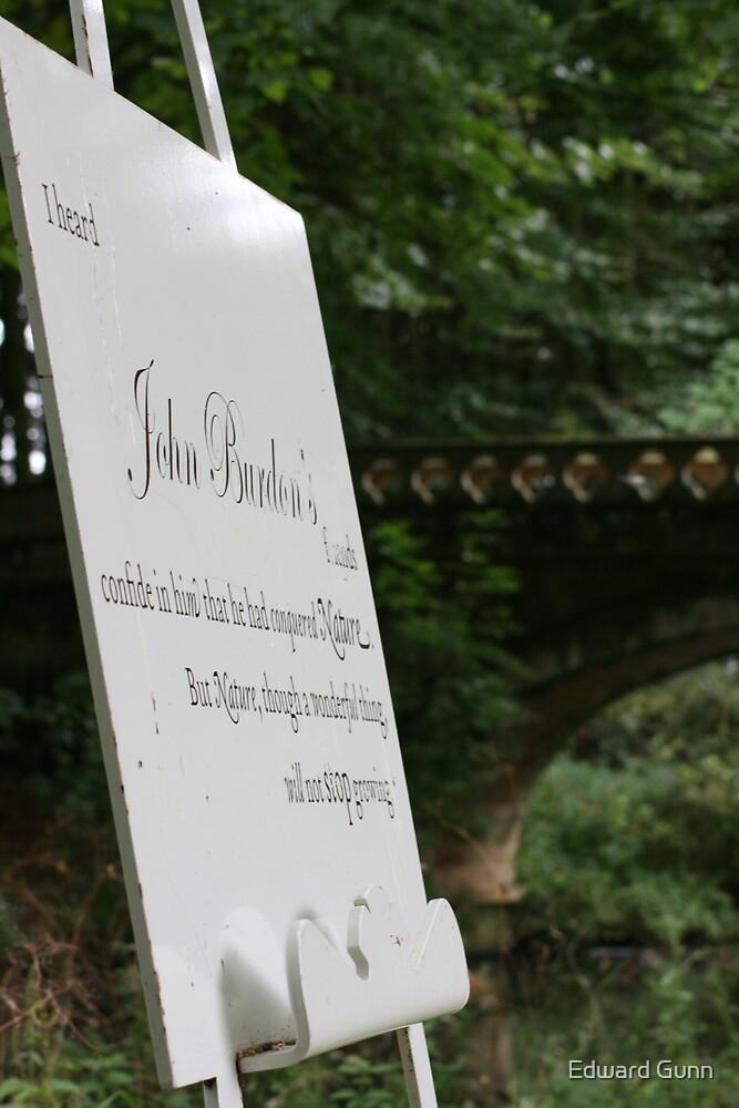 John Burdon by Edward Gunn