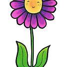 Happy little Flower in a Pot. by TakoraTakora