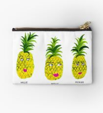 Pineapple Sisters: Millie, Molly and Pickles Studio Pouch