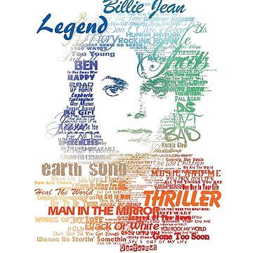 Michael Jackson — Music Typography Vol. 2 by Obtineo