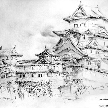 Sendai Castle by sbland