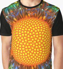 Sunburst Daisy Graphic T-Shirt