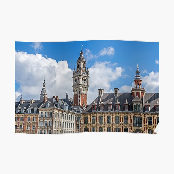 Lille skyline Poster