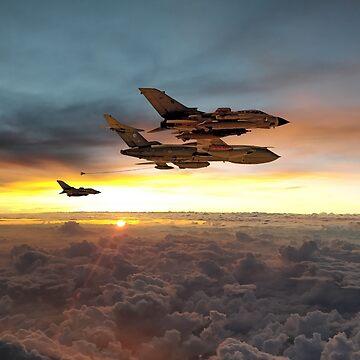 Gulf War Veterans by aviationart