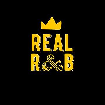 Real R & B Logo by globesinger