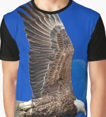 Eagle Fly Over Graphic T-Shirt