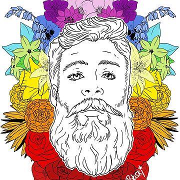 Floral Pride by RobskiArt