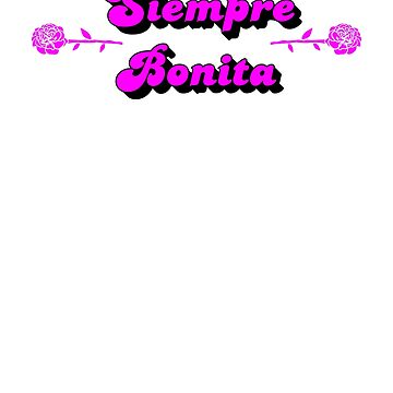 Siempre Bonita Always Pretty Carnation Design by BrobocopPrime