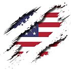 """United States of America """"Tearing a New One"""" by BlackCheetah"""