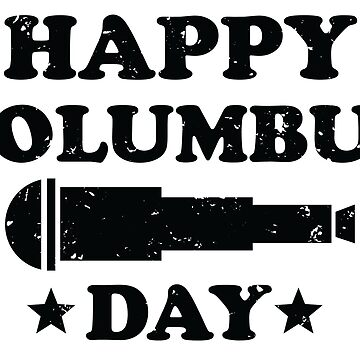 Columbus Day 1492 by Pixelofart