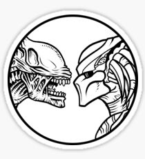 Alien vs. Predator Sticker