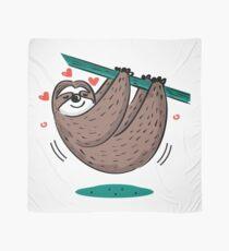 Cute Sloth Love Scarf