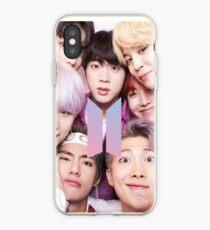 Vinilo o funda para iPhone BTS Group PHOTO Case / Poster ECT (Selfie) con logotipo