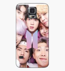 BTS Group PHOTO Case / Poster ECT ( Selfie ) With Logo 2018 Case/Skin for Samsung Galaxy