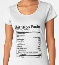 Half-Blood Nutrition Guide (Percy) Women's Premium T-Shirt