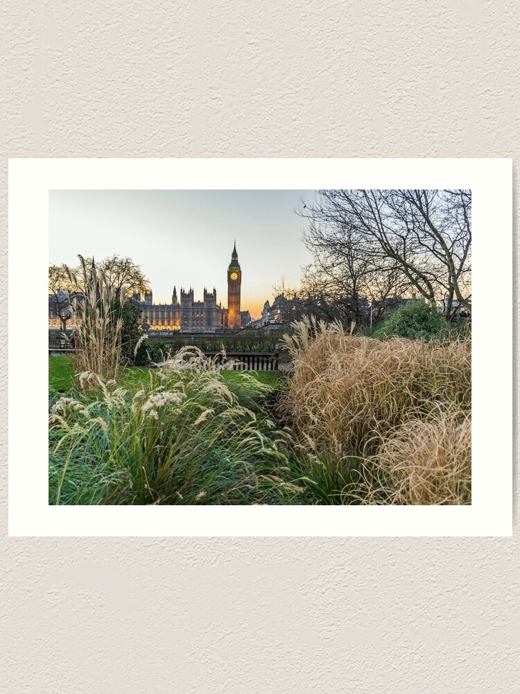 Alternate view of A different view of the Elizabeth Tower Art Print