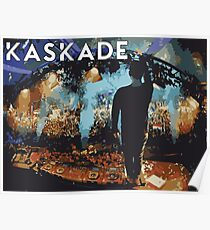 Kaskade points at stuff Poster