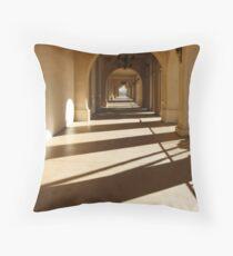 path to lightness Throw Pillow