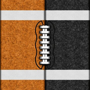 Orange and Black Fantasy Football Team MVP by OldGlory