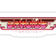 Gradius Sticker