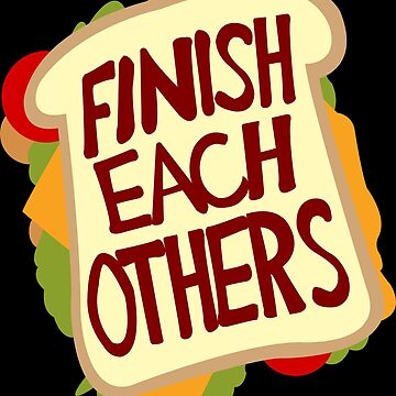Finish each others Sandwiches by MonkeyLi