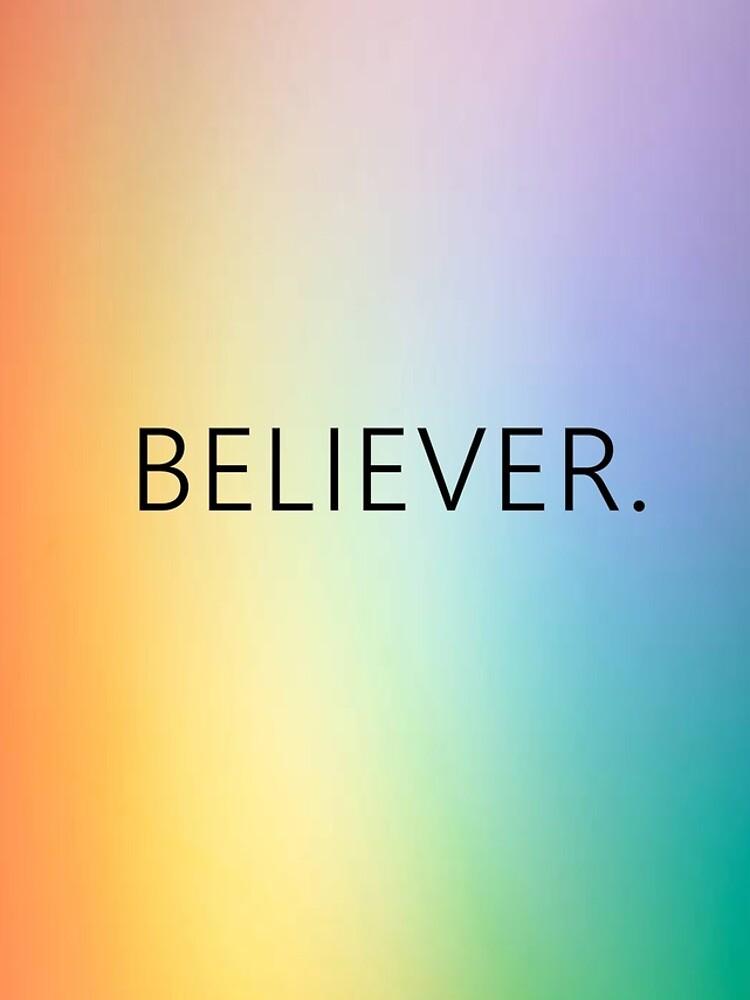 Rainbow Believer - ¡Camisas, casos, libros y más! de 8v2000