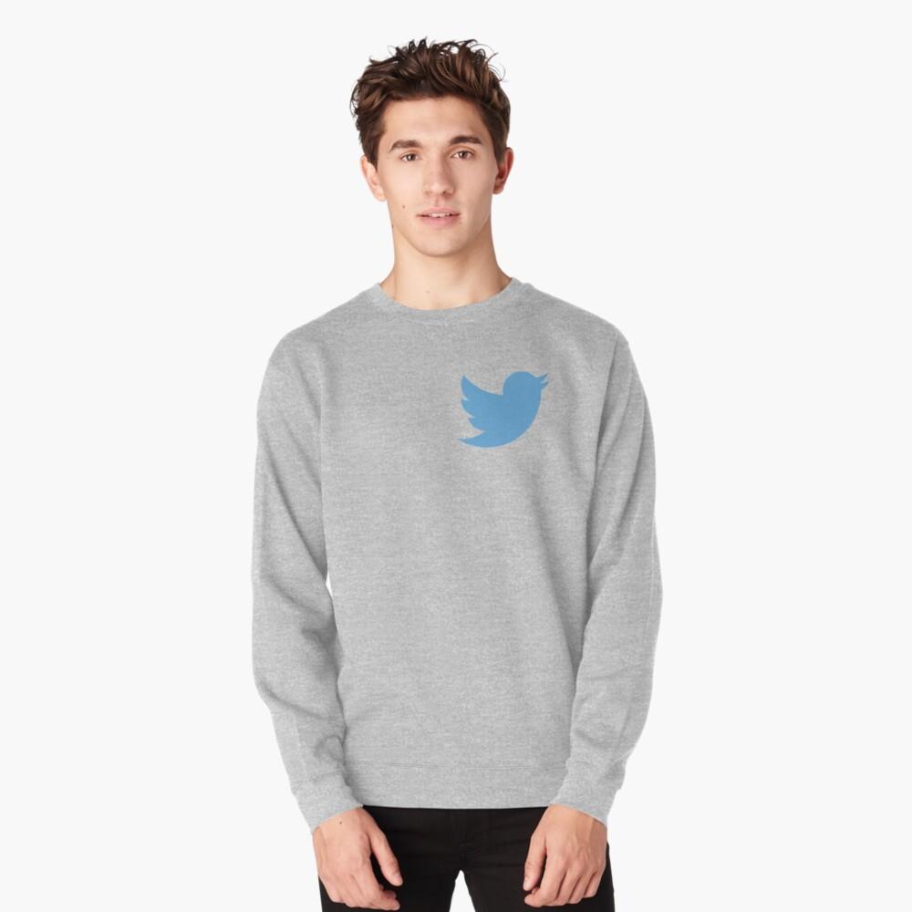 Twitter logo Pullover Sweatshirt