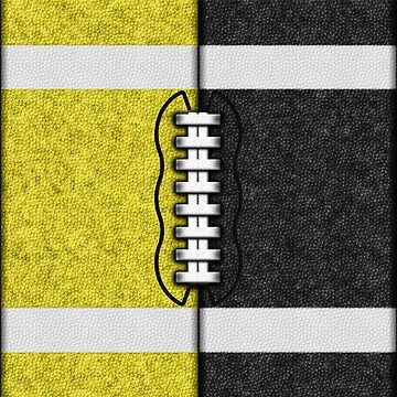 Yellow and Black Fantasy Football Team MVP by OldGlory